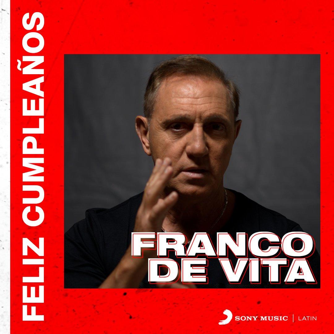 🎊 ¡Hoy es el cumple de @FrancoDeVita! 🎊 A celebrar con él cantando sus grandes éxitos 😍👏🎉