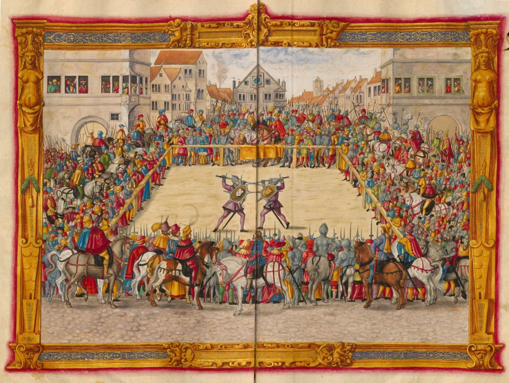 Trial by combat wasn't abolished in Britain until 1819. In the USA, it never has been.