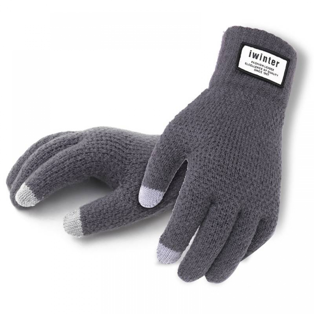 Men's Knitted Touchscreen Gloves #summer #style #my