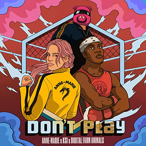 NewEntry;  #NowPlayingOnMaxFM: #DontPlay by @AnneMarie  ft @KSI & @DigiFarmAnimals    Live on #MaxWorldChartShow with @Ewoma_O   Listen online via   #Max1023FM #Max909FM #SaturdayVibes