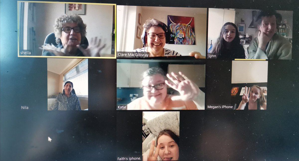 That was FUN! 💥 #InternationalWomensDay  planning for #Tranent  Watch out for our event celebrating the @UN_Women theme #womeninleadership  📅 Friday 5th March 2021 🕖 7pm 🚀 On Zoom  More details soon!