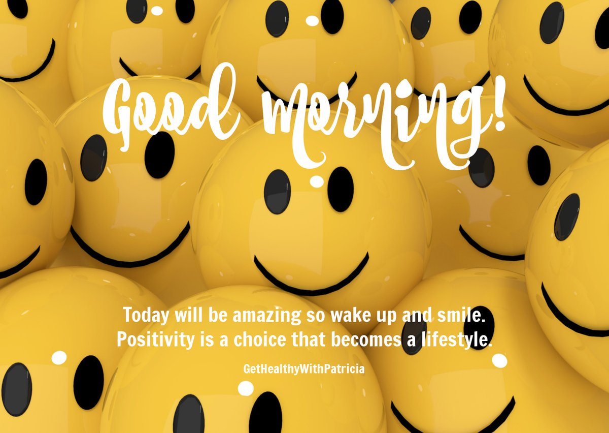 Happy Saturday!  Today will be amazing so wake up and smile. Positivity is a choice that becomes a lifestyle.  #SaturdayMorning