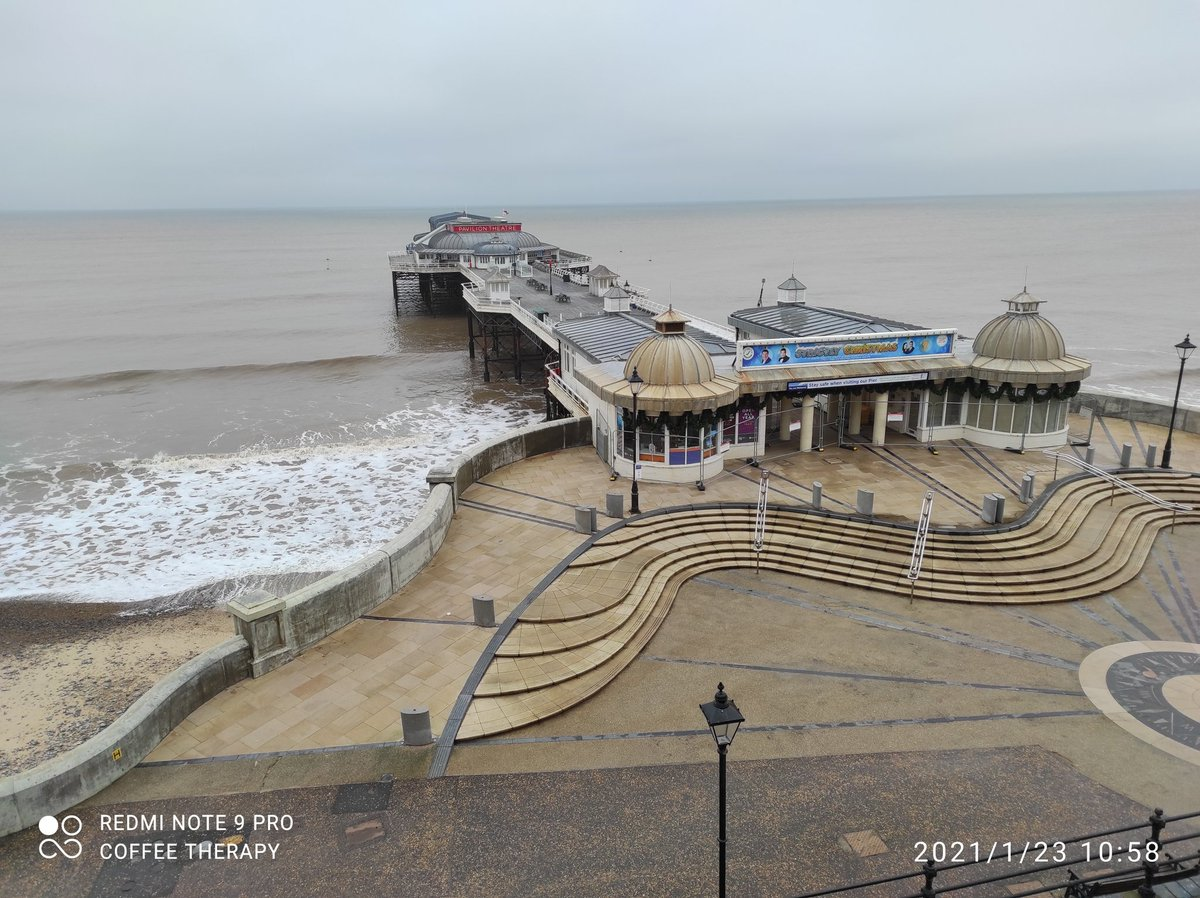 A very quiet #SaturdayMorning in #Cromer