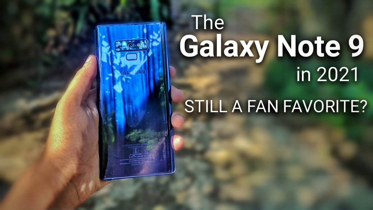 Galaxy Note 9 long term review! How does it hold up in 2021:👀  . . . . . #Samsung #GalaxyNote20 #galaxynote9 #SamsungUnpacked #samsunggalaxy #OldSchool #note9 #Flagship