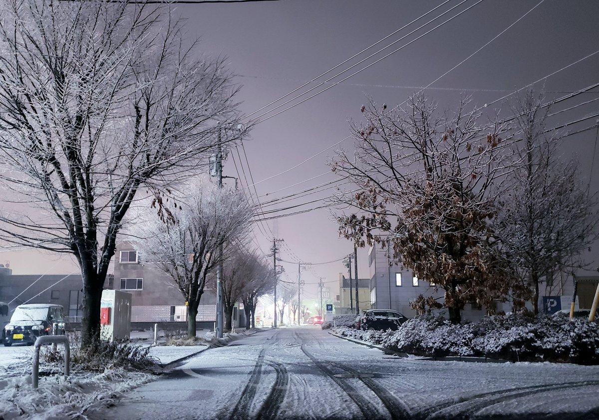 「踊れ 雪よ やまないで今は     溜め息を 優しく吸いこんで     つもれ この世の悲しみを全部     深く 深く埋めてしまえ」  雪の降る夜は、B'z の『snow』を聴きたくなります。  #イマソラ #佐久市 #キリトリセカイ  #photography   #snow
