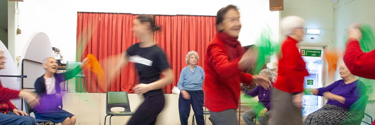 Dancing is an excellent way to support physical, emotional, spiritual, and social wellbeing amongst older people! Starting 29 Jan, join @DanceWest1 for their wholesome sessions, on Fridays @ 12pm.  Simply dial in to #Zoom using Meeting ID:  856 5791 6686 Passcode: Dance #AgeUKHF