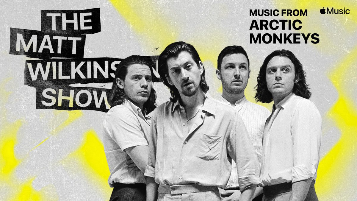 15 years ago today, @ArcticMonkeys released a debut album that changed the shape of British music entirely.  I did a deep dive on 'Whatever People Say I Am, That's What I'm Not' on my show.  Open @AppleMusic and search Matt Wilkinson to listen, or click 📲