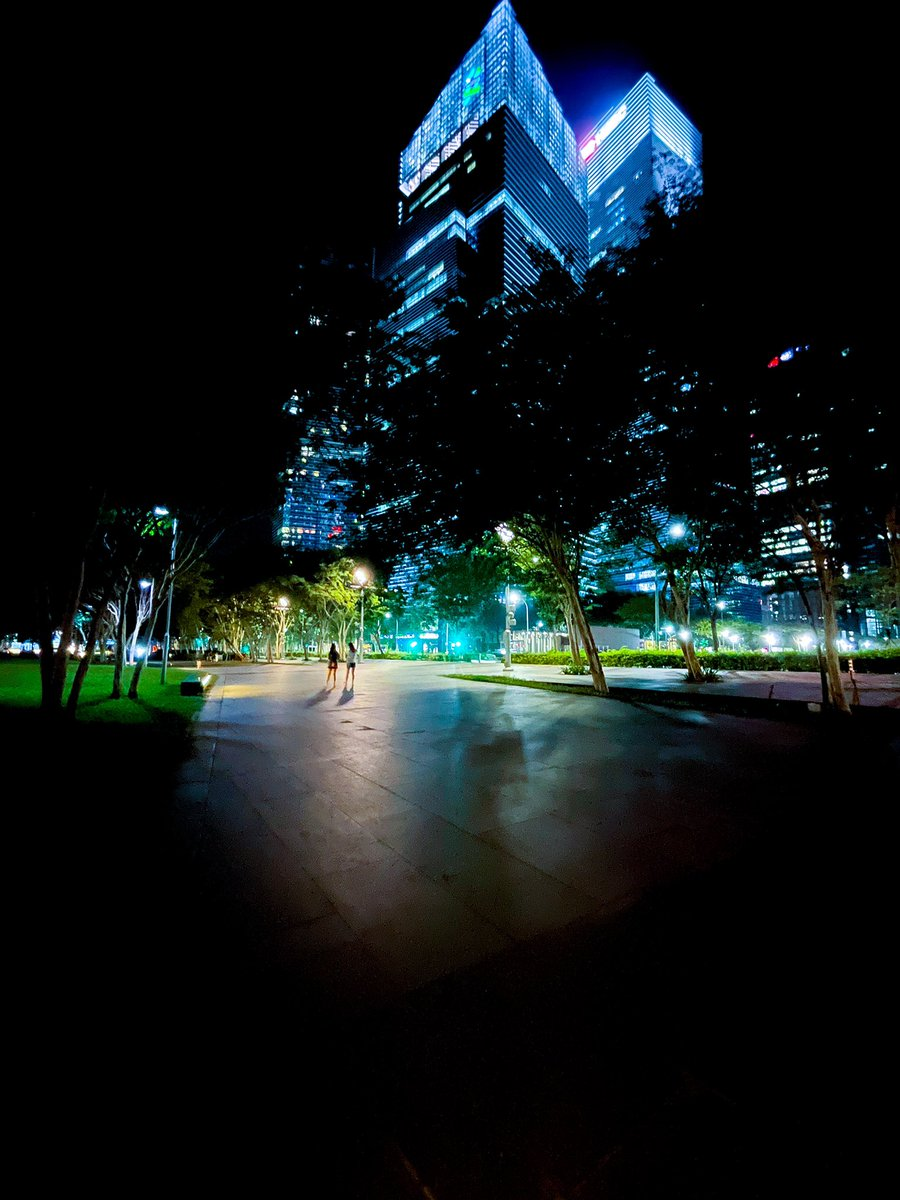 Night walk #apple #shotoniphone12promax #NightMode #Singapore