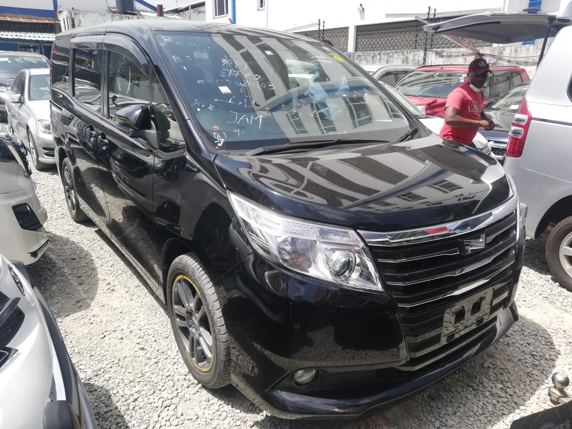 On Sale.  2014 Model of Toyota Noah Black Latest registration number Clean & Loaded  Call / Text +254720200655 +254734200655 #Mombasa  #MasculinitySaturday #CarsAwards
