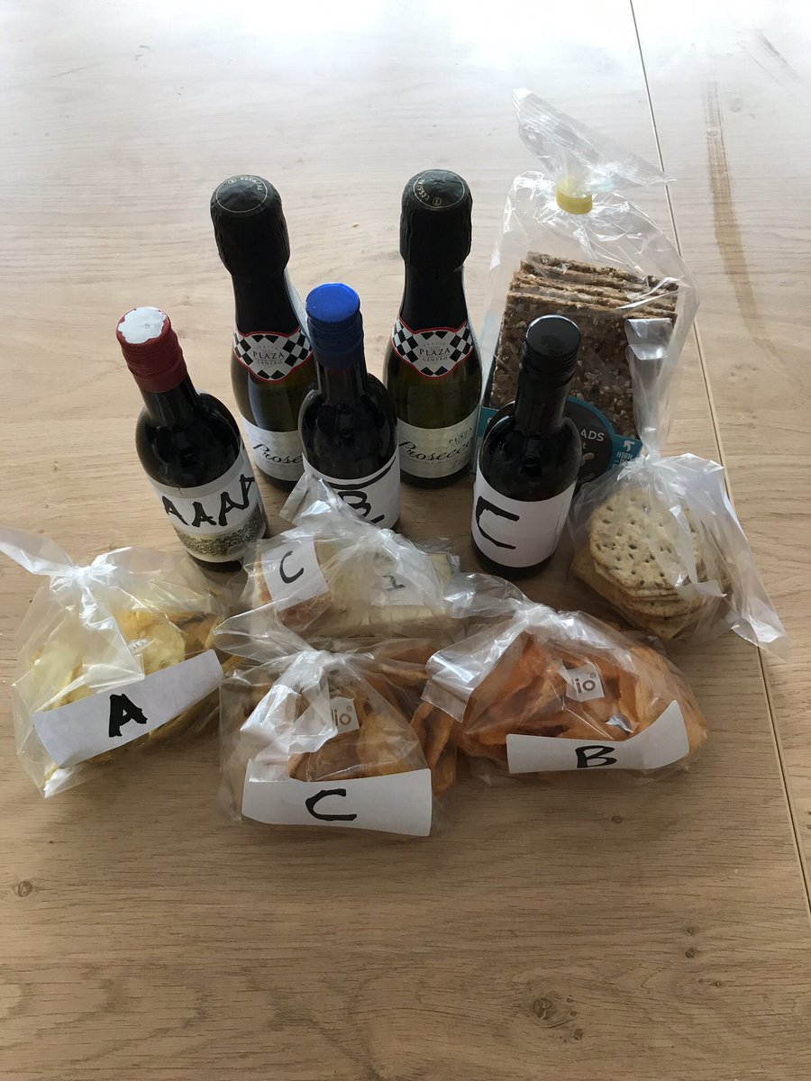 Check out the wine, cheese & crisp tasting package my friend just delivered for tonight's #zoom birthday bash. Meanwhile, my cupcakes and candles are now out for delivery to the party guests. Making the most of #lockdown life!