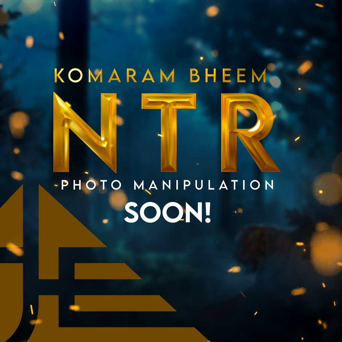 "Let #RamarajuForBheem hit 40million🐯🌊 ""పులుల మధ్యన పులి"" #KomaramBheemNTR @tarak9999 @RRRMovie #rrrfanart  stay tuned!!!✊"