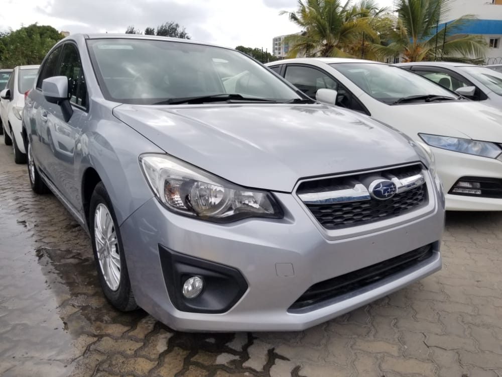 You Can Own It.  Subaru Impreza 2013 Model Silver,1500cc, Clean & Loaded.  Kshs. 1,250,000.  Hire purchase Terms accepted with only 50% downpayment  Call / Text +254720200655 +254734200655 #Mombasa #MasculinitySaturday #CarsAwards #GorVsVihiga #UhuruNairobiAuction