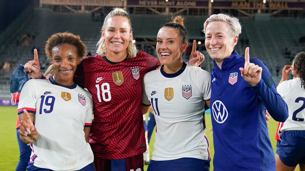 Replying to @ORLPride: Who had fun last night?☝️#USAvCOL #USWNT