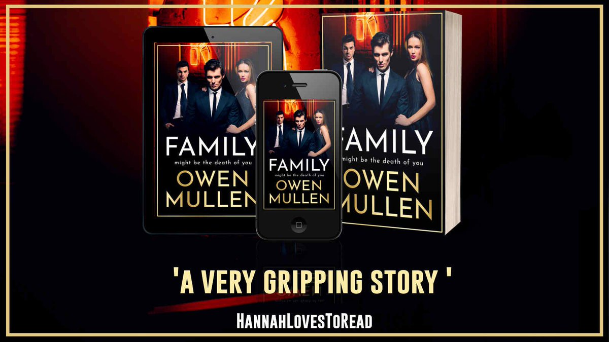"""a very gripping story "" says @HanLovesToRead about Family by @OwenMullen6     Family is available now ➡️"