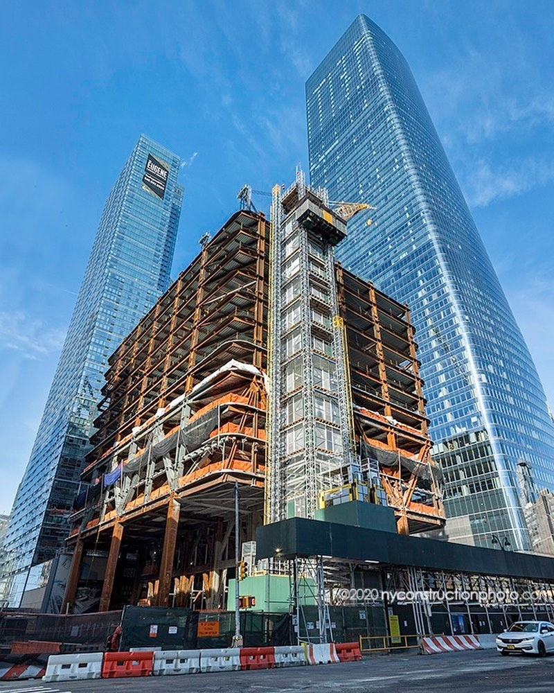 #repost @nyconstructionphoto . 2 Manhattan West Height: 935ft (285m) Floors: 60 Architect: Skidmore , Owings & Merrill  Structural Engineer: Skidmore, Owings & Merrill Anchor tenant: Cravath, Swaine & Moore LLP Work started: January 2019