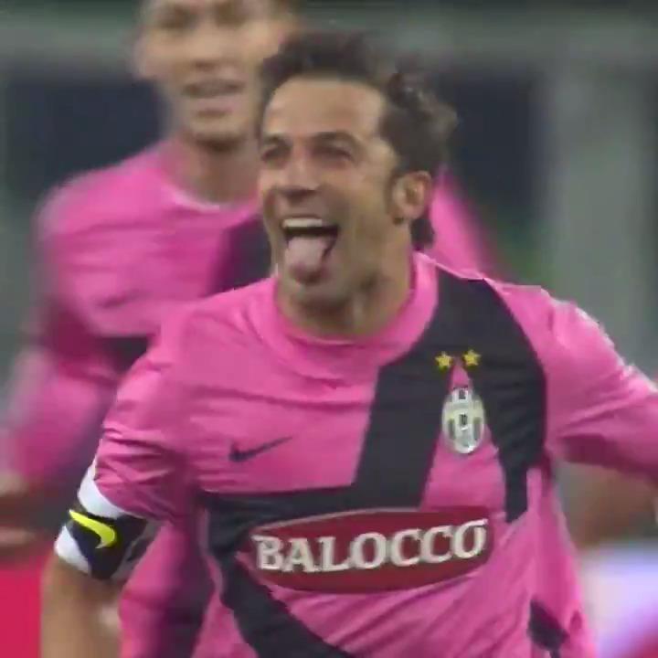 🧙♂️⚽ @delpieroale のファンタスティックなアリアンツ・スタジアム初ゴール!😛❤️  #GoalOfTheDay #ForzaJuve