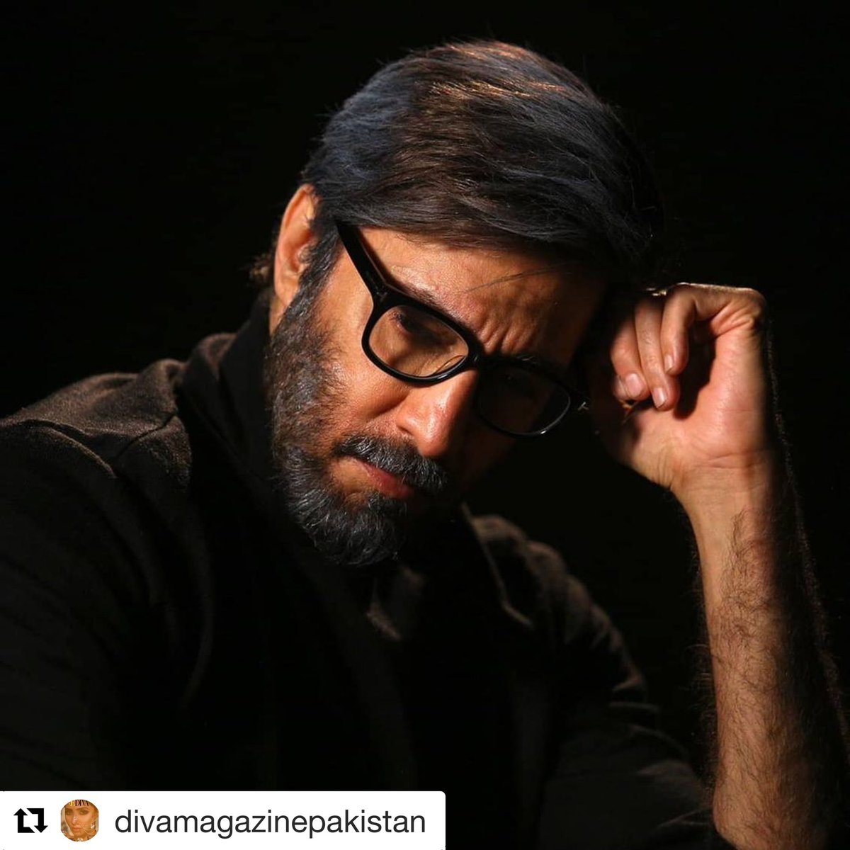 #Repost @divamagazinepakistan with @get_repost ・・・ Nothing we do can change our past but everything we do changes our future.  The lurking darkness in #AijazAslam's new shots have us excited. 😍😳♥️  #FutureImperfect #KamranJawaid #MKJ #ZaidAziz #VoxVision #Dark #Supernatural
