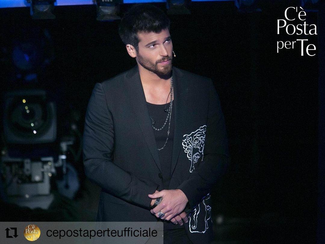 Today in Italy 🇮🇹 #CanYaman #Repost @CePostaPerTeOff • • • • • • L'amatissimo attore turco Can Yaman vi aspetta questa sera alle 21.15 su Canale 5, ci sarete vero? #CePostaPerTe
