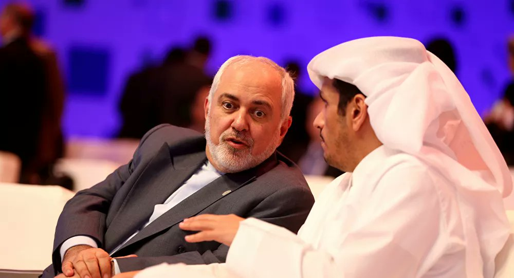 #ظريف يرحب بدعوة #قطر للحوار بين #دول_الخليج و #إيران  via @sputnik_ar