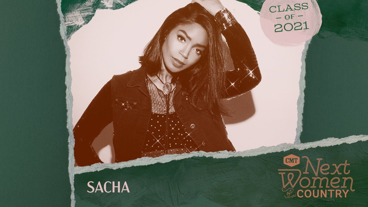 Congrats, @SachaVisagie! We're overjoyed to have you as a part of this year's #CMTNextWomen class. This year will bring you such great things 🤩