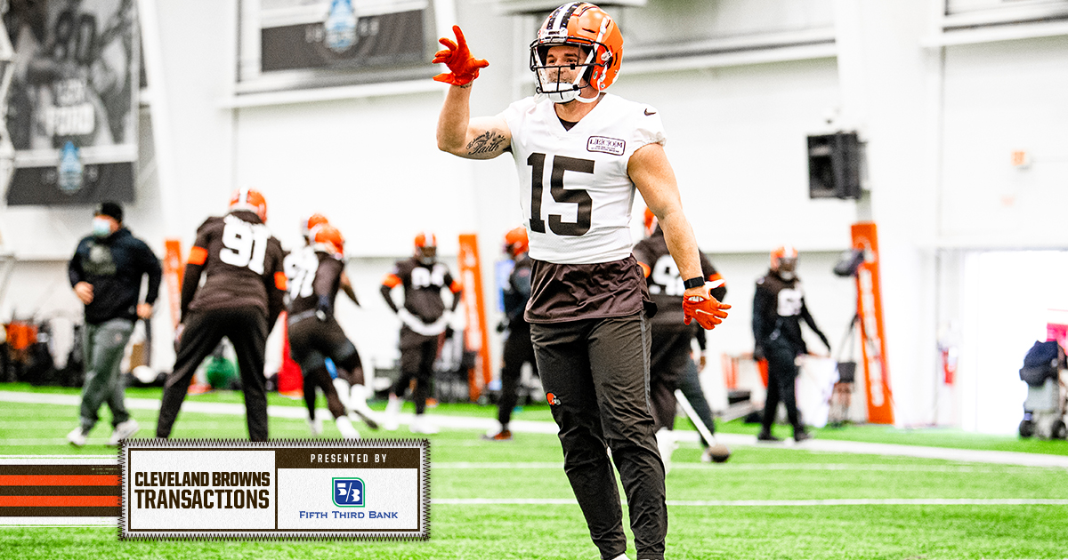 We've signed WR Ryan Switzer to the reserve/futures list  📰 »