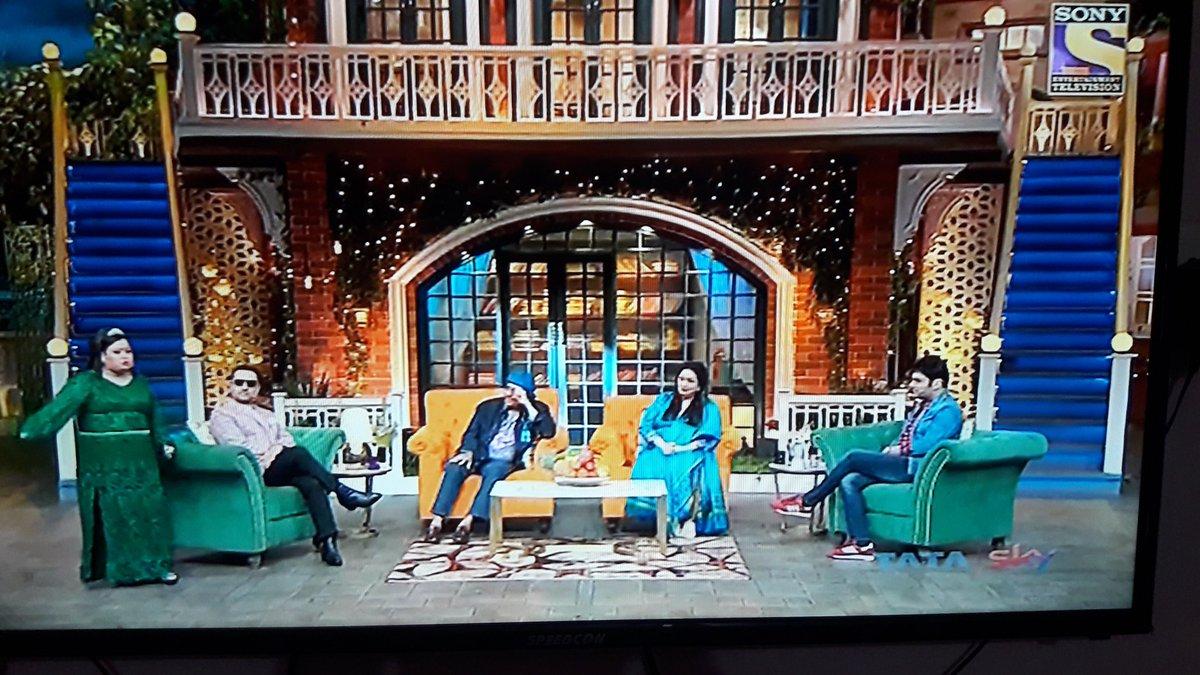 So Good to see you @GulshanGroverGG paaji in #TheKapilSharmaShow tonight.. you are the best sir 🤝🙏Love u ❤.  #Ranjitji #Bindu mam.. @SonyTV
