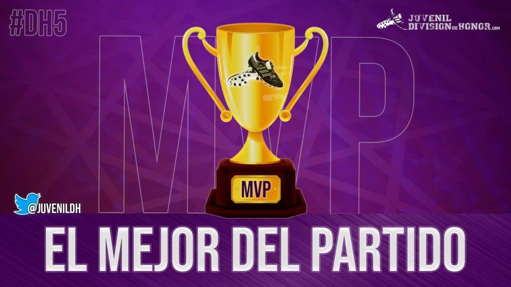 ⭐ EL MEJOR DEL PARTIDO ⭐  El mejor jugador del partido entre @cantera_extud 🔴🔵 y @AtletiAcademia 🔴⚪ para @JuvenilDH es... 🥁   8️⃣ @alber8moreno  El capitán del Atleti anotó el ⚽ de la victoria de los rojiblancos 🔴⚪  #VamosExtremadura🌳 #AúpaAtleti🔱#JuvenilDH👟#DH5🏆
