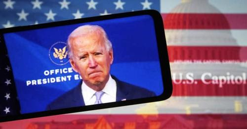 """Biden, """"the most popular person to win the Oval Office in history"""", doesn't generate enthusiasm for his speeches, which are watched online by a very small number of viewers.  His inauguration YouTube video had only 450,000 views (9,400 thumbs up, 43,000 down).  #SaturdayMorning"""