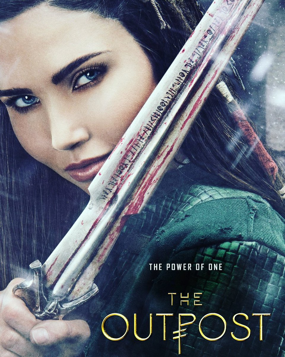 I loved #theoutpost fantasy #series! 👏 Waiting for the new season 4!  #Talon #CW