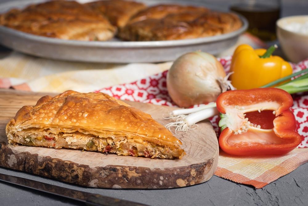 What Greek chicken pie looks like!!! #kotopita #traditional #greek #village #pie #comfortfood #chickenpie #bake #bakery #homemade #food #foodie #yummy #instafood #lunch #dinner #cafe #torontocafe