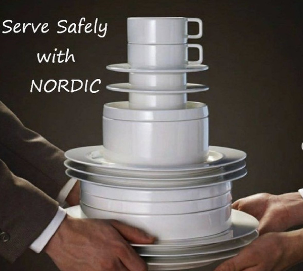 @RakPorcelainUSA's NORDIC has the functionality to adjust safely to the new #foodservice norm. 👌 #MakeSureItsRAK  #TabletopMatters #porcelain #dinnerware #foodstagram #gourmet #cheflife #inspire #restaurant #tweegram #hospitality