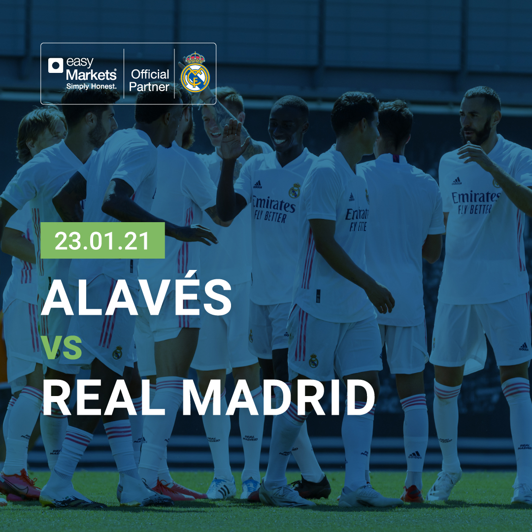 It's a game day! 💪🏼⚽Good luck Real Madrid C.F.  for your game with #Alaves! #AlavesRealMadrid #tradelikeachampion #RealMadrid #RealFootball #RMFans #HalaMadrid #RMHistory #LaLiga #football #futbol #easyMarkets