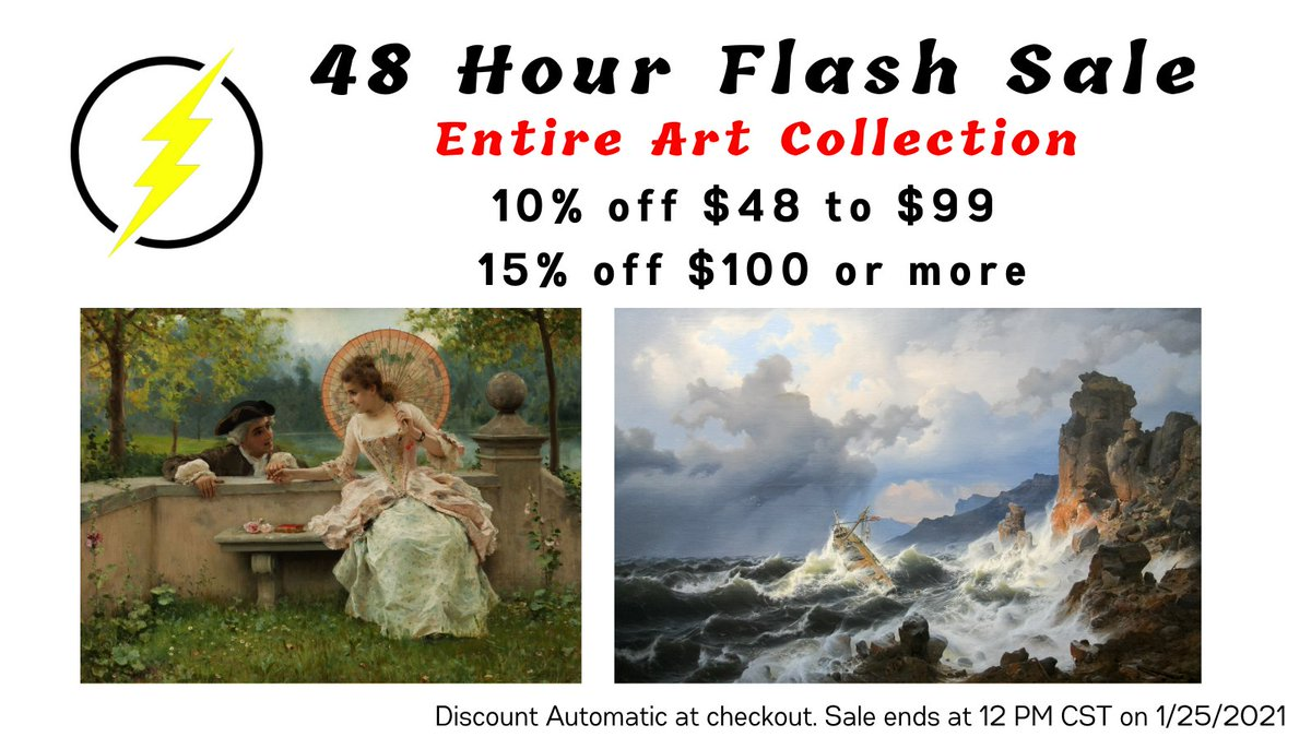 48 hour #FlashSale Save big on our entire #Art Collection for a limited time! #Art #Sale #discount #Save  #SaturdayMotivation #SaturdayVibes #Artwork #homedecorideas