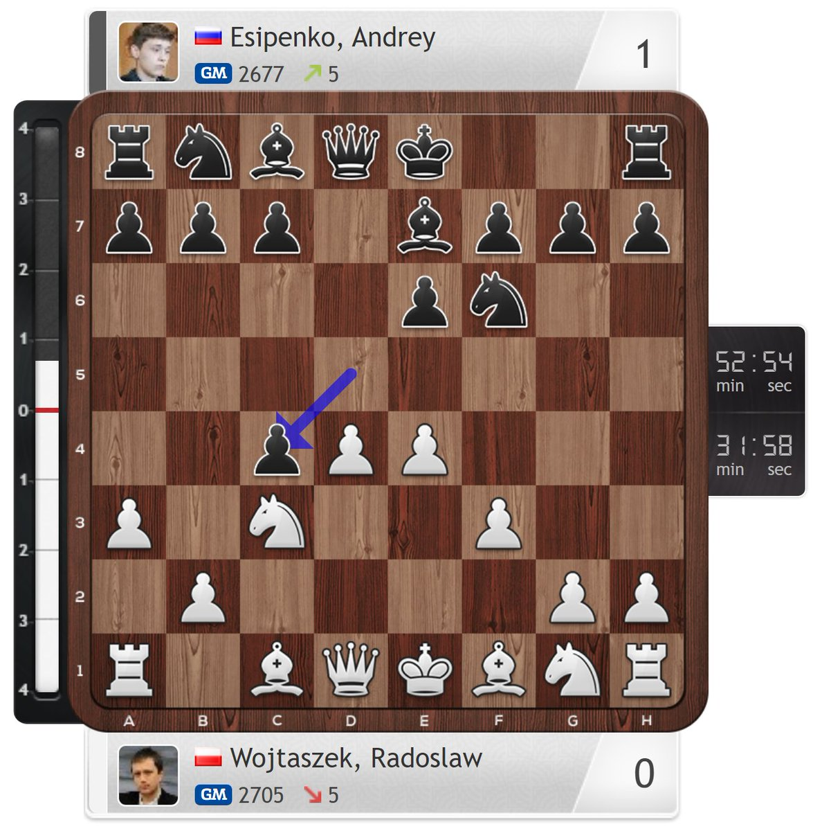 test Twitter Media - RT @gmjlh: Esipenko knows. #TataSteelChess https://t.co/0X74nWhqYh