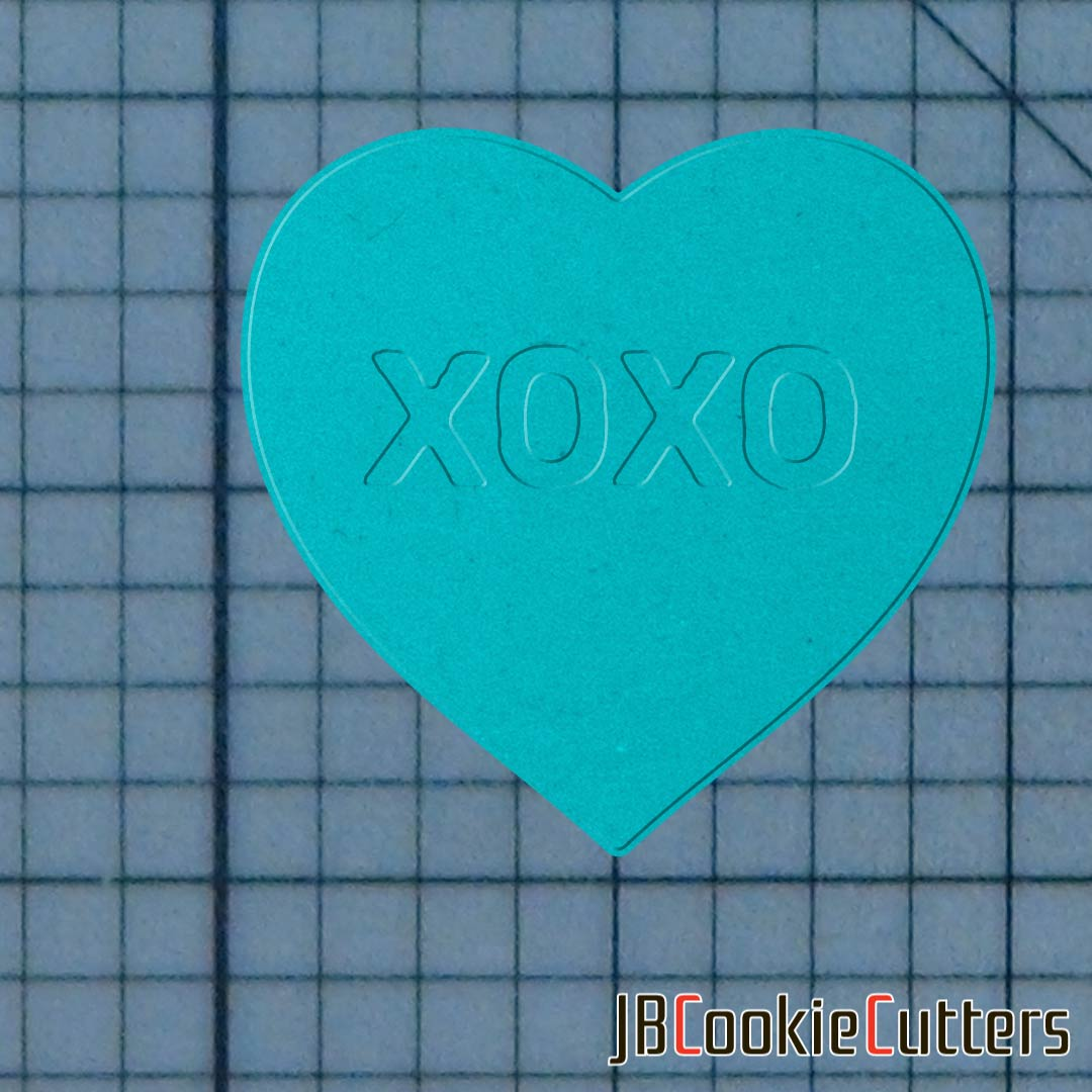 XOXO 227-152 Cookie Cutter and Stamp now available!  #fondant #dessert #cupcakes #diy #handmade #bakingsupplies #instadaily #instafood #igdaily #jbcutoutoflove #cookiecutters #acrylicstamps #stamps #customize #custom #valentinesday #vday #heart