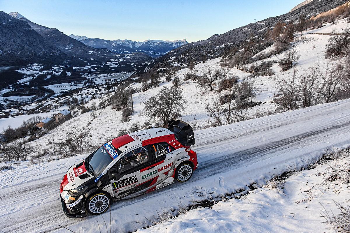 WRC: Sebastien Ogier y Elfyn Evans luchan en la mañana nevada de Montecarlo Lee más ▶️  #WRC I #RallyeMonteCarlo I #SebastienOgier I #ElfynEvans