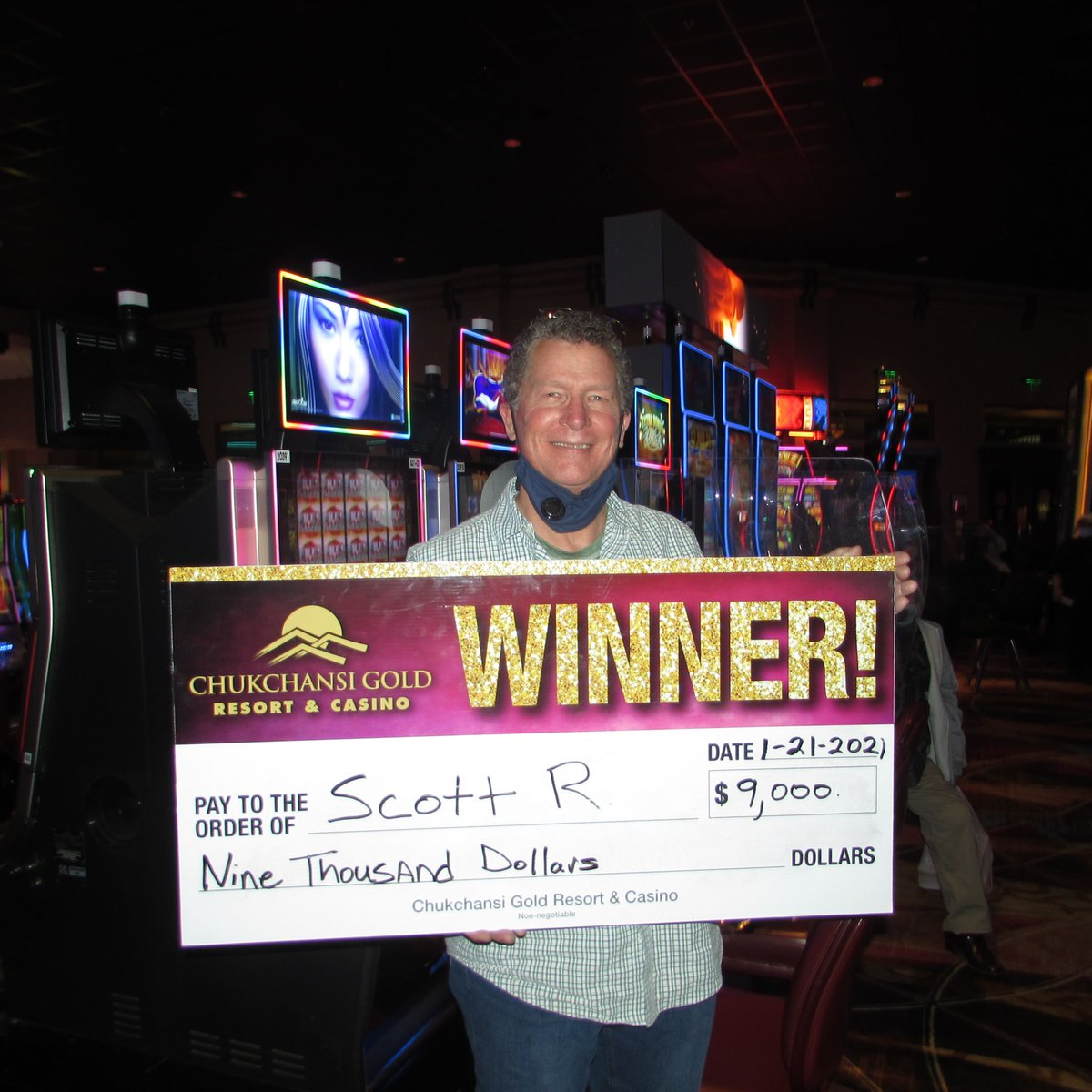 Congratulations to Scott from Fresno on his $9,000 #jackpot on Wicked Winnings 💸 #MoreWinning https://t.co/i0TVVtfe9x