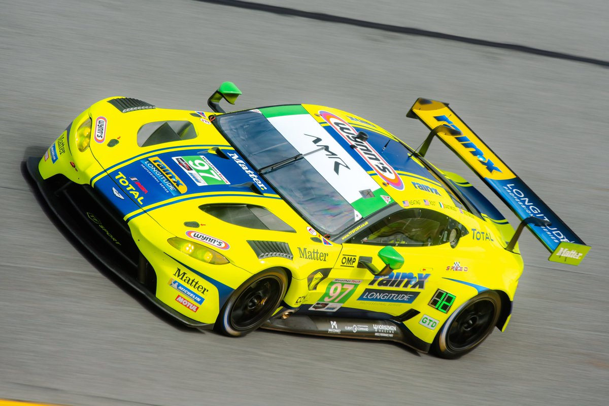 It's qualifying day at @DAYTONA for the Roar before the @Rolex24Hours. Today's @IMSA GTD session at 2000 (GMT) determines the grid for tomorrow's 100-minute qualifying race.  Look out for the #23 @HeartofRacing23 and the #97 @OfficialTFSport Vantage GT3s!  #AstonMartin #Vantage