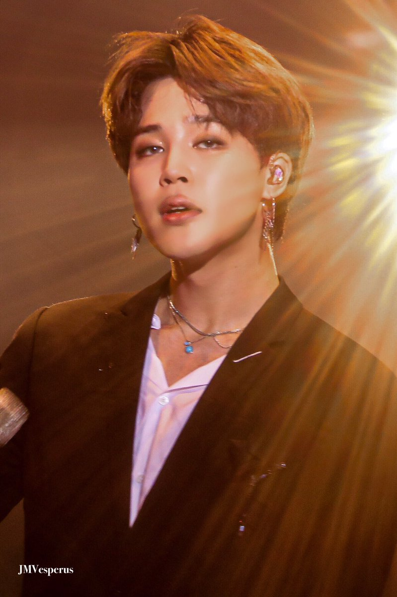 You never stop surprising me, you never stop growing... Now you are the Sun, shining by itself with the light of your talent, your beauty & your charisma and your shining reaches us and fills us with hope, joy, comfort and inspiration! 🌟  #ThankYouJimin FOREVER WITH JIMIN 💛