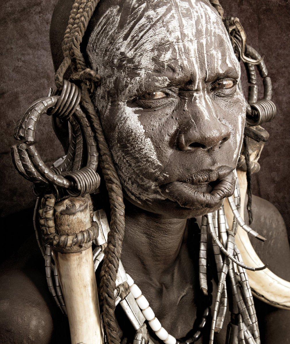 #اثيوبيا #قبائل_الاومو #من_تصويري  #portrait