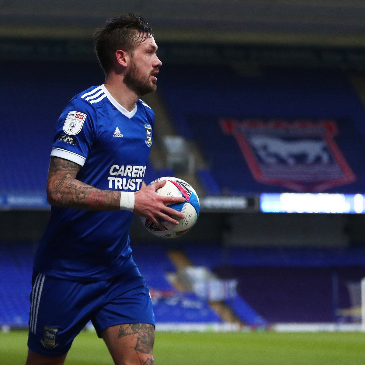 🎥 Luke Chambers spoke to iFollow Ipswich following this afternoon's game.  #itfc