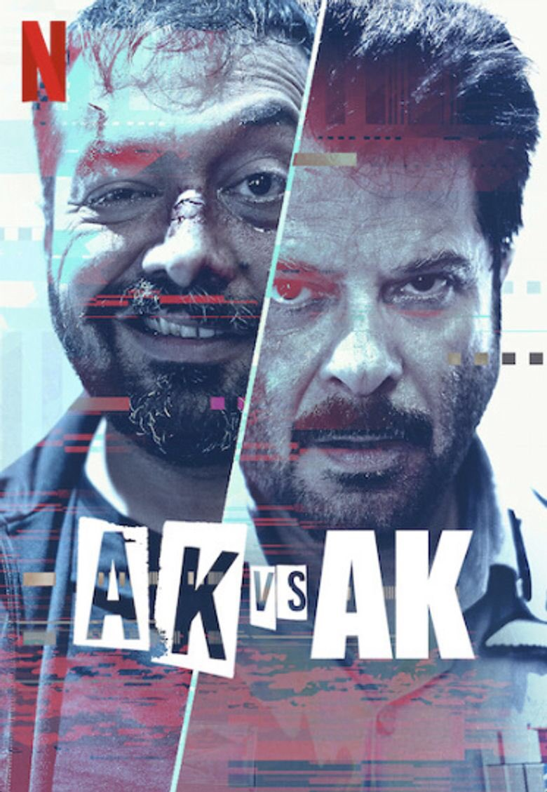 #AKvsAK it's a good thriller entertainer,  really enjoyed the tension between Kashyap and Anil, more than a thriller enjoyed the movie in a fun perspective. 6.5/10
