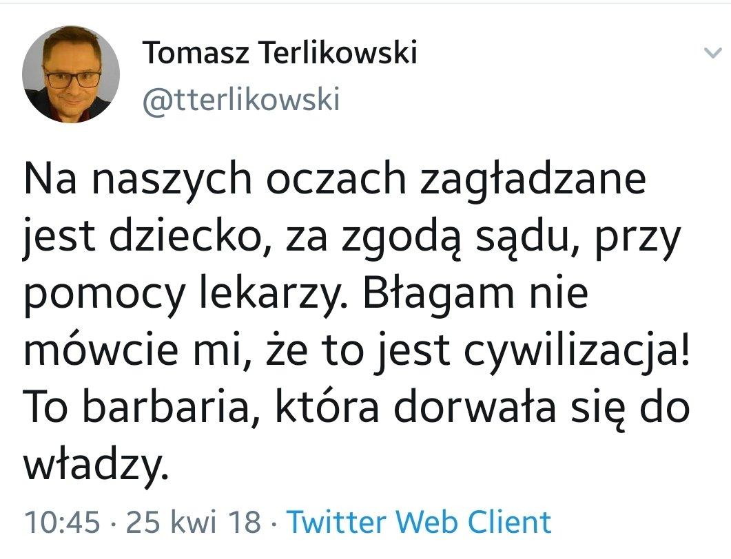 Katolik Terlikowski zanim trafił do Onetu.  #pecunianonolet https://t.co/0l9vDQjJwh