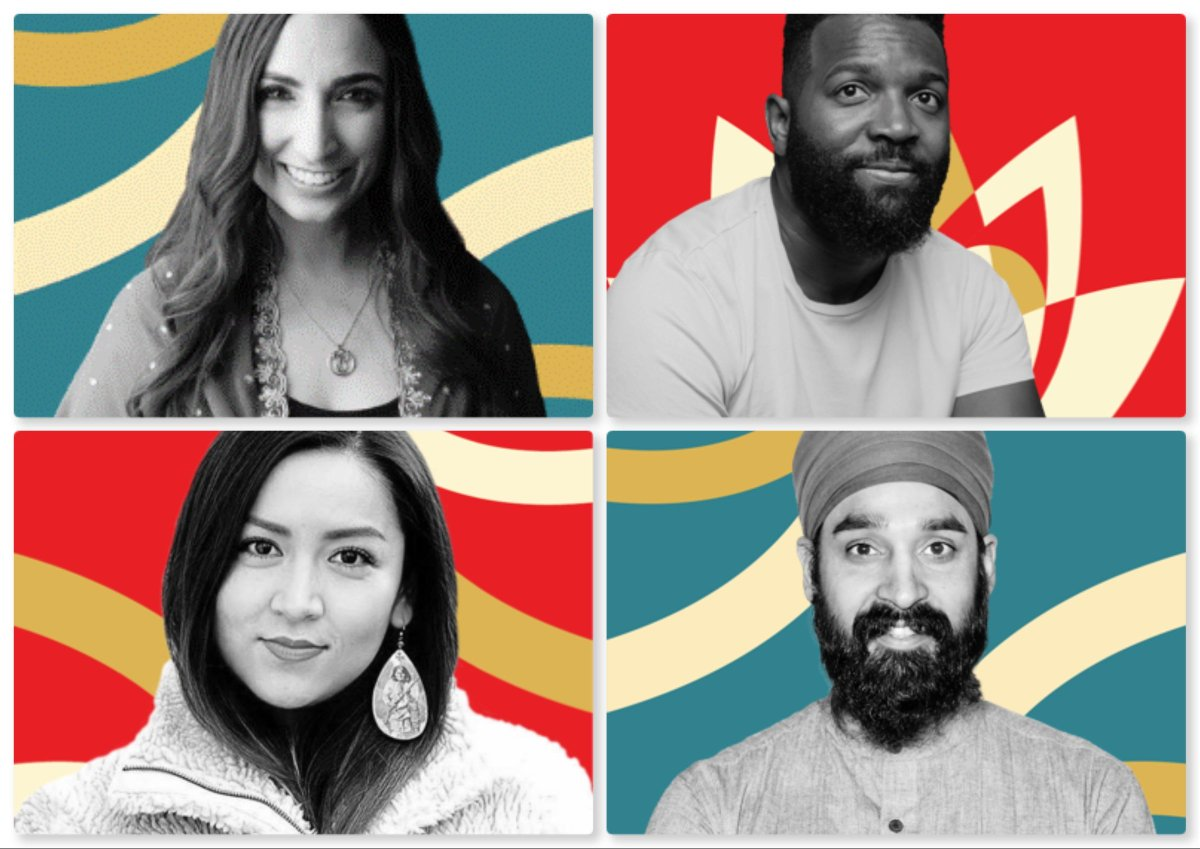 In case you missed it, access last night's Interview + LIVE Q&A on #WONDER with @ValarieKaur, @Baratunde, @AllieYoung13 & @SikhProf. It's stunning. Also watch Valarie's teaching series + practices on wonder at this link:  #ActivateRevolutionaryLove
