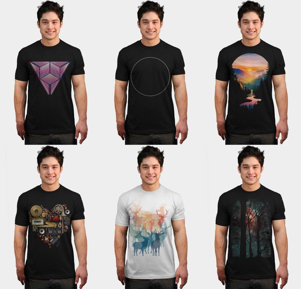 Shop now on @designbyhumans Collective Store  #clothing #tshirt #tshirts #design #geometry #abstract #illustration #men #women #boy #hexagon #triangles #shapes #animals #nature #gaming #mug #phonecase #sweater #tanktop #sticker #sweatshirt #artprint #colors