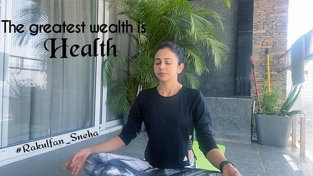 New New #youtube video of @Rakulpreet ,  . Thanks a million !! ma'am for all special things u do&inspire us 🙂 Being an Positive Inspiration all time  This video of you,in fact is must&very beneficial for strong health tips & tricks 💪🏻 . #RakulPreetSingh