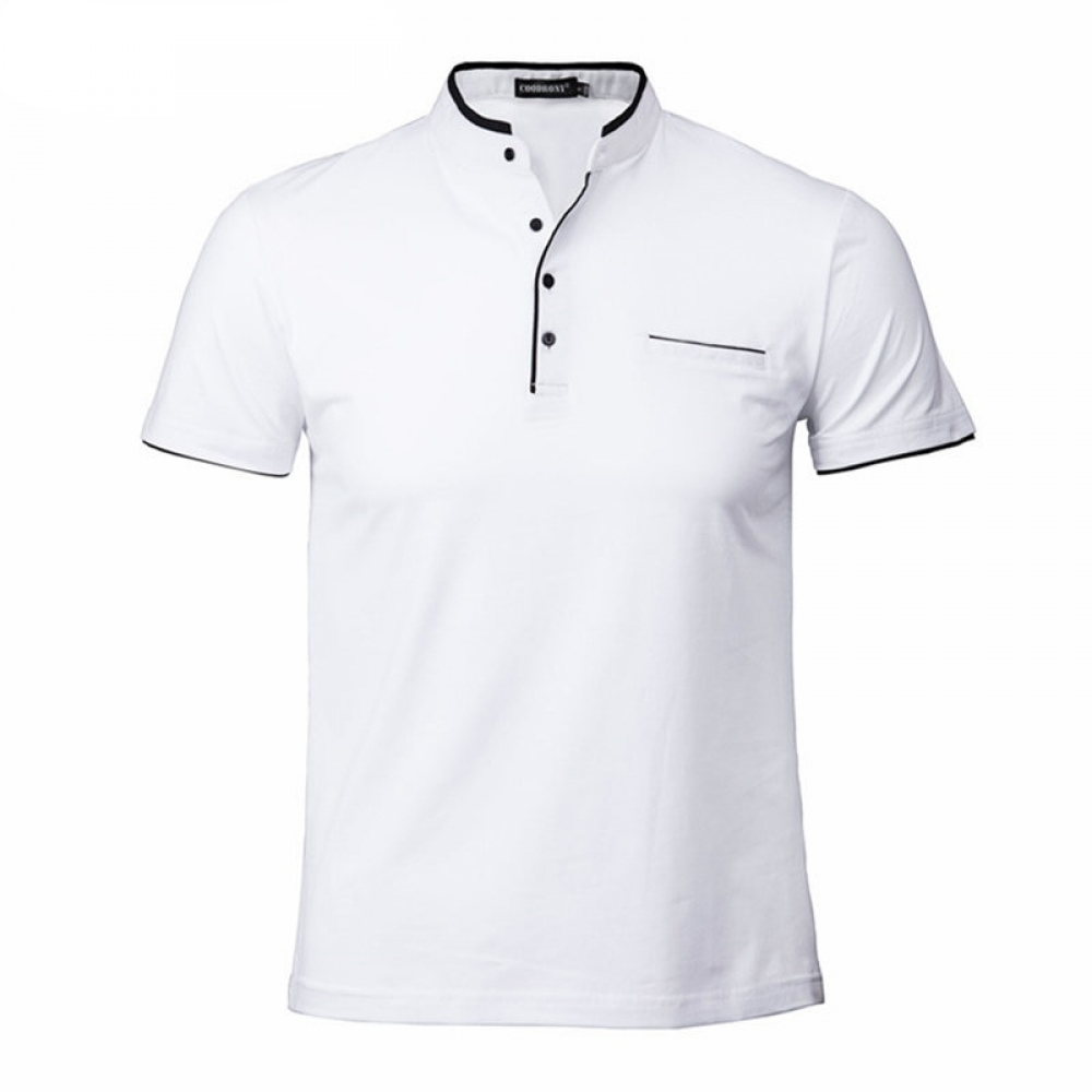 #happy #instalike Men's Elegant Shirt with Mandarin Collar