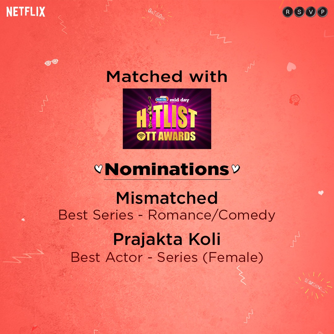 This is a perfect match! Show us some love:   @mid_day @radiocityindia @RonnieScrewvala @MrAkvarious @iamMostlySane #RohitSaraf @NiDharm @SanayaIZohrabi @gazalstune @NetflixIndia  @HoneyTrehan @Nawazuddin_S @radhika_apte @MacguffinP @pashanjal