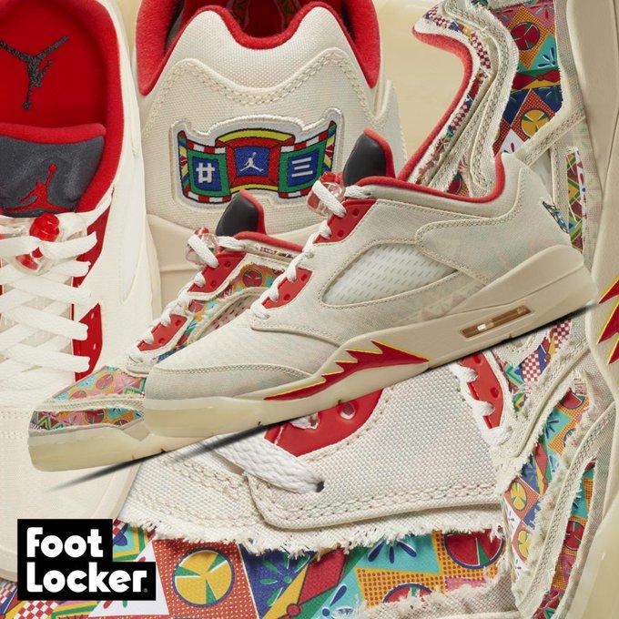 air jordan rouge foot locker
