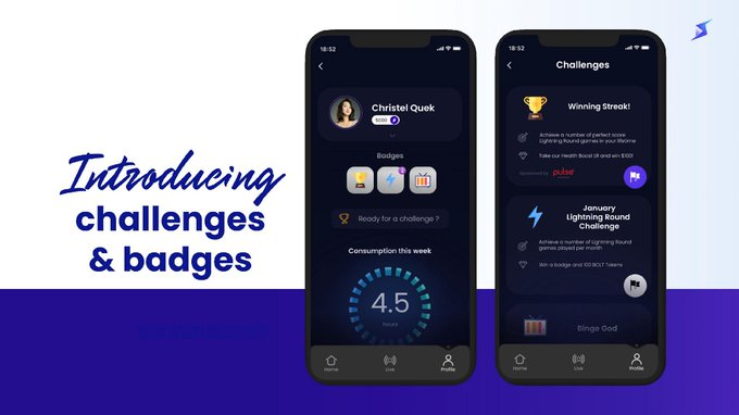 Introducing the Challenges and Badge feature on the BOLT+ APP  Who will be the best? Who will finish most challenges? Who will get most badges?  Join by Downloading the app  (BOLT+) for all devices @Bolt_Global #BOLT @boltx_finance $BOLT